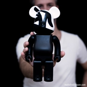 I like: Cap & Pep 400% Be@rbrick